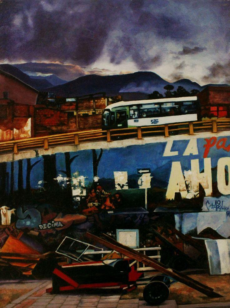 https://flic.kr/p/UCHb6E | Pintura en Oleo | Bryan Veloza Diaz Her Man