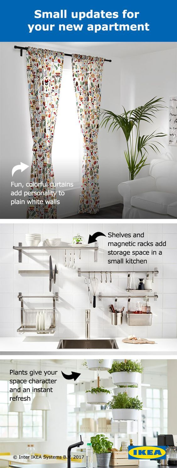 Moving into a new apartment? Make your rental feel like home with easy-to-achieve updates on a budget that won't cost you your security deposit. Click for an IKEA coupon to help you furnish your new space!