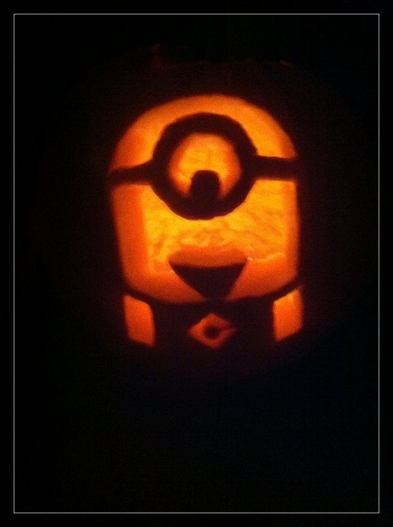 Minion Pumpkin Stencil Minion Pumpkins 20 Halloween