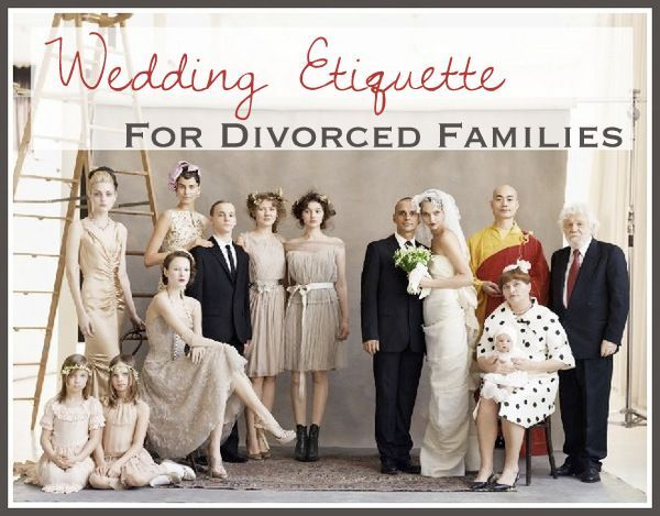 Wedding Etiquette for Divorced Parents