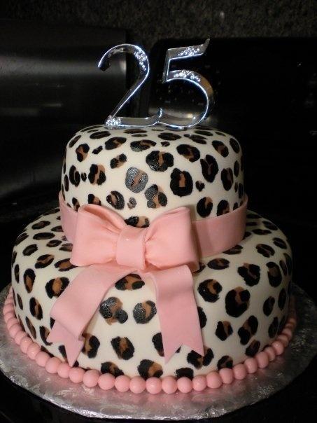 Leopard Skin Birthday Cakes