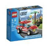 LEGO City Fire Chief Car 60001 by LEGO — Help save the day. When the cat gets stuck in the buildable tree, rush the fire chief to the scene in his cool Fire Chief Car to lure the cat down with a tasty fish. The fire chief is always ready to help the people of Lego City. Includes 2 minifigures: fire chief and a cat owner with assorted accessories.  : :  http://www.reallygreatstuffonline.com/lego-city-fire-chief-car-60001-by-lego/