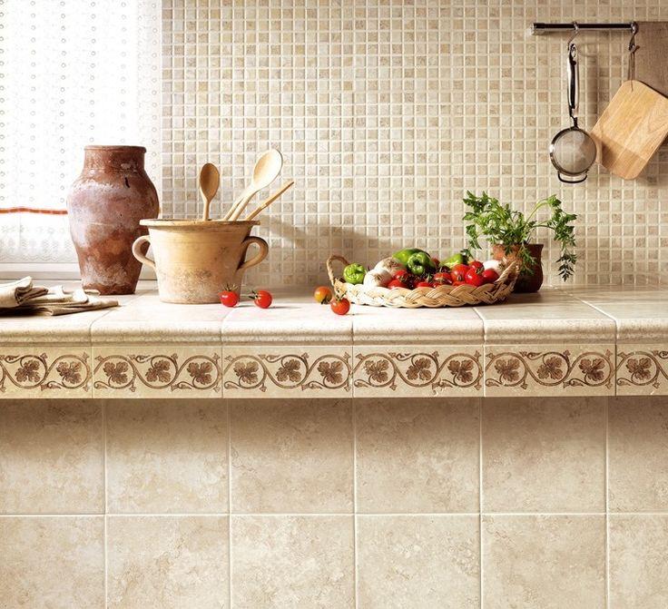 Amalfi-rustikální kuchyňský obklad 10×10 cm.