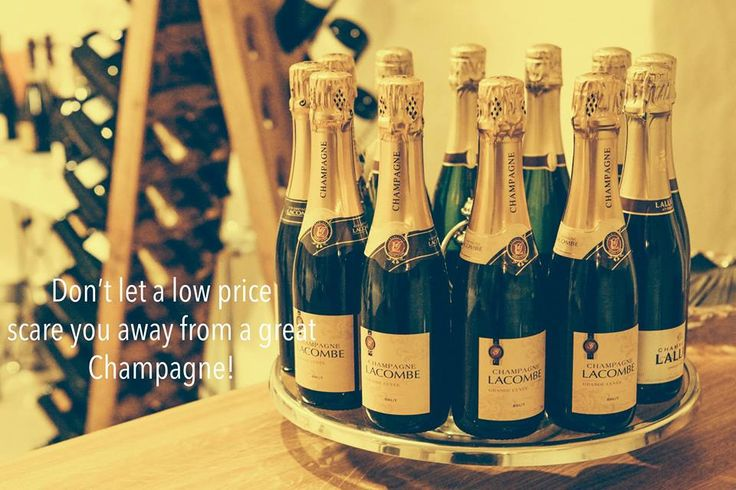 Don't let a low price scare you away from a great Champagne! Get yours today at Maisons de Champagne Boutique  Champagne Georges Lacombe