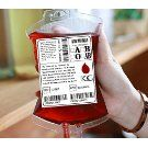 H.YOUNG 6 Pack Reusable Blood Pack Drink Container/Bag with Fast Filling Funnel For Party Hallowen Children Funny Decoration