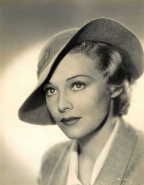 Madeleine Carroll as 'Elsa Carrington' - 1936 - Hat by Lilly Daché - Secret Agent - Director: Alfred Hitchcock - @~ MlleHollywood Hats, Bobs Hope, Hats 1930S, Beautiful, Alfred Hitchcock, Perfect Hats Madeleine, Hats Madeleine Carroll, Vintage Hats, Actresses