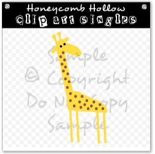 giraffe clip art, giraffe graphic, giraffe image, giraffe illustration, spotted giraffe graphic, kids clip art, giraffe invitation art