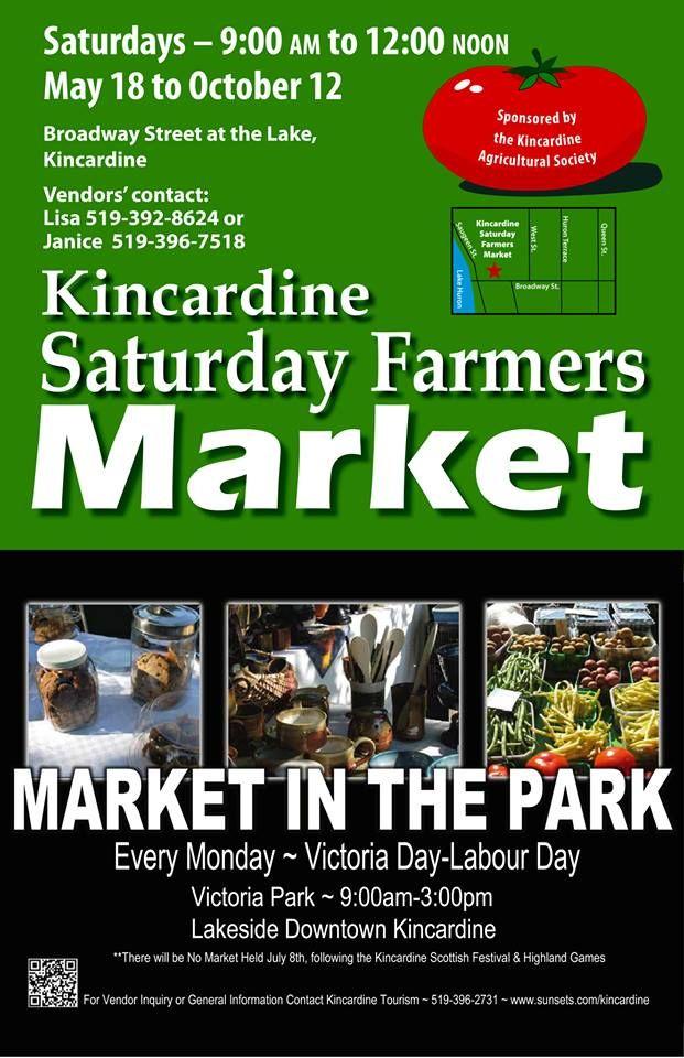 Markets in Kincardine, ON