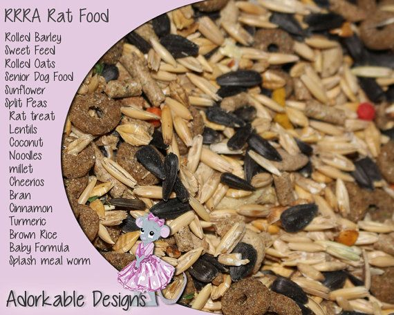 RRRA Rat Food