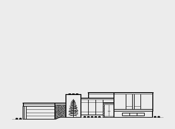 Mid Century Modern Homes Collection on AIGA Member Gallery