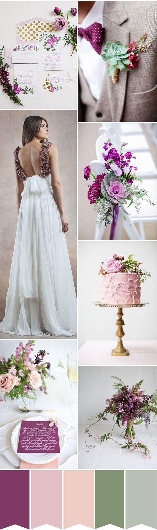 Pretty purple and green wedding (Diamonds, Engagement Rings, and Fine Jewelry at http://www.brilliance.com)
