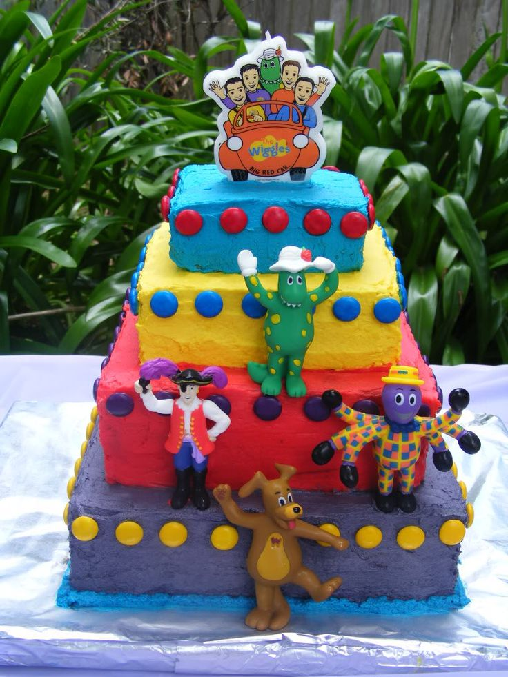 Wiggles Cake! Photo: This Photo was uploaded by charlismummyxx. Find other Wiggles Cake! pictures and photos or upload your own with Photobucket free im...