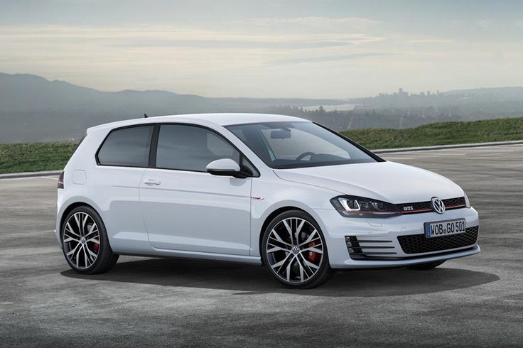 Image of 2015 Volkswagen GTI. Love the new style wheels