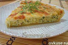 Пирог с кабачком, что может быть вкуснее? - Простые рецепты Овкусе.ру