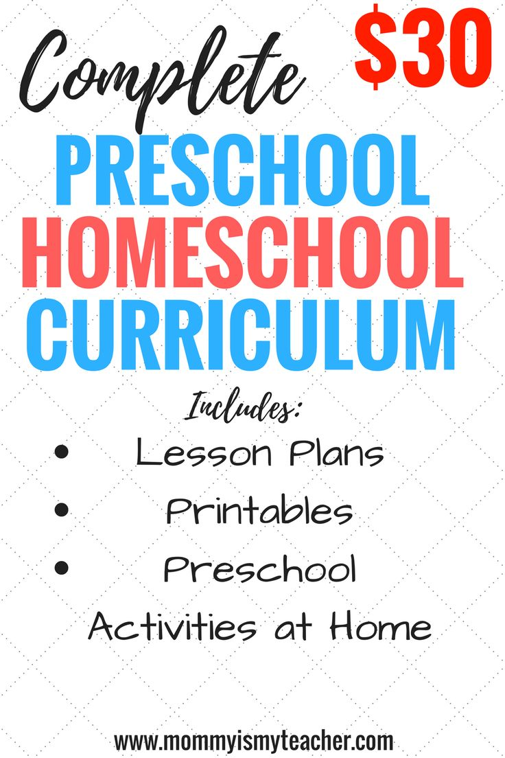 Wow, this preschool homeschool curriculum is practically free! I love how it includes preschool homeschool lesson plans and preschool activities at home!