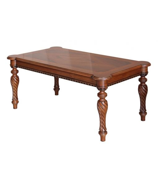 Classic wooden coffee table. Product code: ER-24 www.italian-style.co.uk