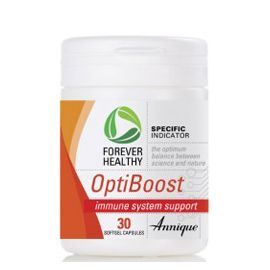 OptiBoost – 30 Softgel capsules OptiBoost provides a complex formula of nutrients to help boost the immune system. The body's ability to deal with invaders quickly and effectively will help you overcome illness, infection and disease. http://www.anniquedayspa.co.za/eb_product/optiboost-30-softgel-capsules/