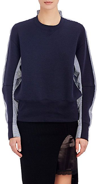 Sacai Luck Blouson-Back Sweatshirt - Tees & Knits - Barneys.com