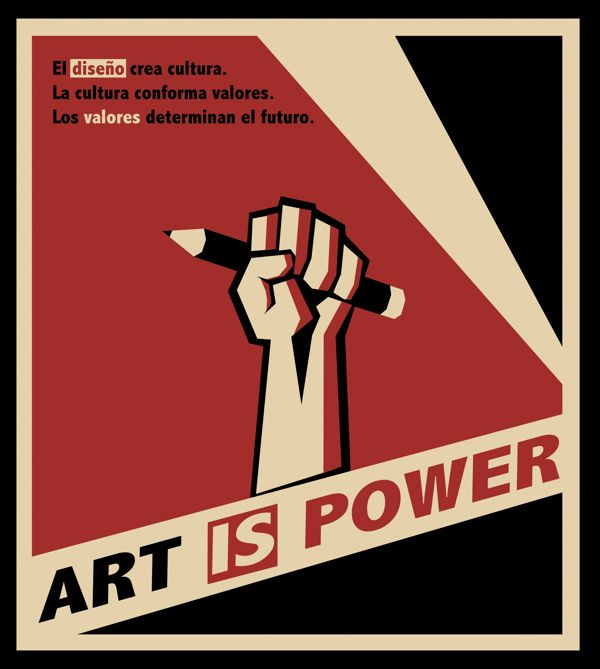 Poster of Russian Constructivism by Daniel Lorenzo, via Behance