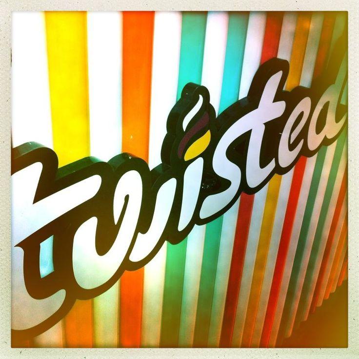 Twisted Frozen Yoghurt - 36 Hall St, Bondi  www.twistedyoghurt.com.au