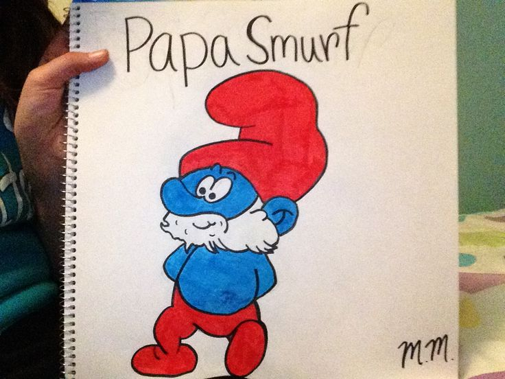 This is my artwork! I LOVE to draw and my favorite is to draw cartoon charecters!! Like, pin, and comment below. Tell me what u think of papa smurf! Maybe I could even draw a charecter u like if u tell me it in the comment section! I hope u enjoy and follow me!