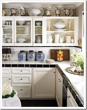 Best 53 Best Images About Decorating Above Kitchen Cabinets On 400 x 300