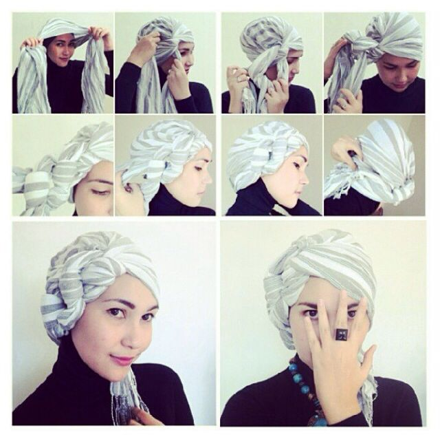 How to Tie Fashion Turban Trend Tutorial