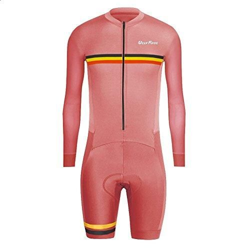 Uglyfrog 2016 New Men's Breathable Spring&Autumn Long Sleeve Skinsuit Cycling Kit With Gel Pad Outdoor Sports... -  #discount flyer #discount louis vuitton