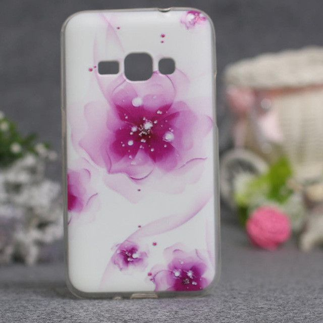 Abstract Flower Painting For Samsung Galaxy