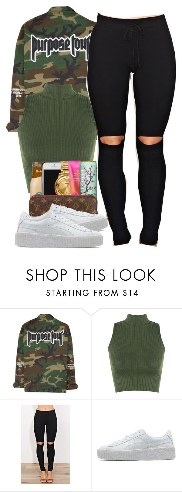 """Purpose"" by alexanderbianca ❤ liked on Polyvore featuring WearAll and Puma"