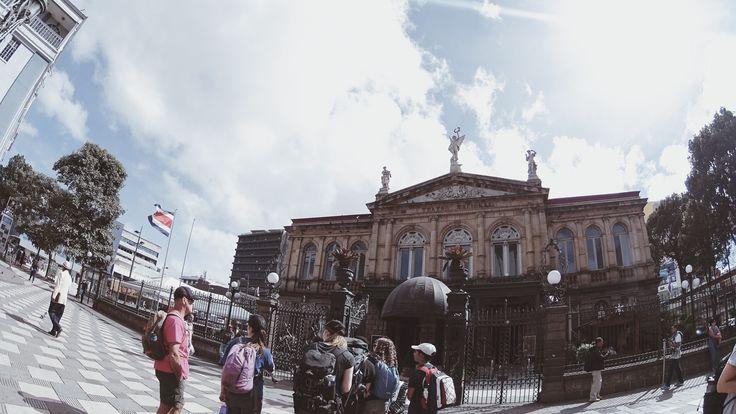 San Jose, Costa Rica || @esha__ #costarica #travel #centralamerica #backpacking #sanjose #theatre #sightseeing #adventure