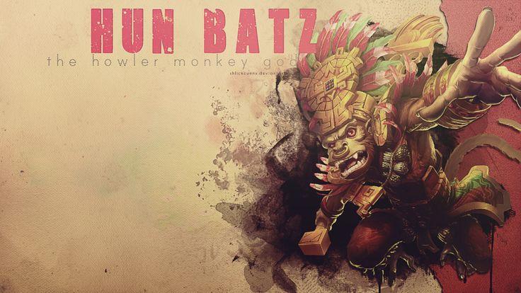 SMITE - Hun Batz, The Howler Monkey God by Shlickcunny.deviantart.com on @DeviantArt