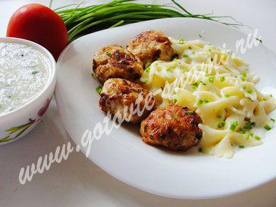 Котлетки куриные с соусом | Готовьте с нами