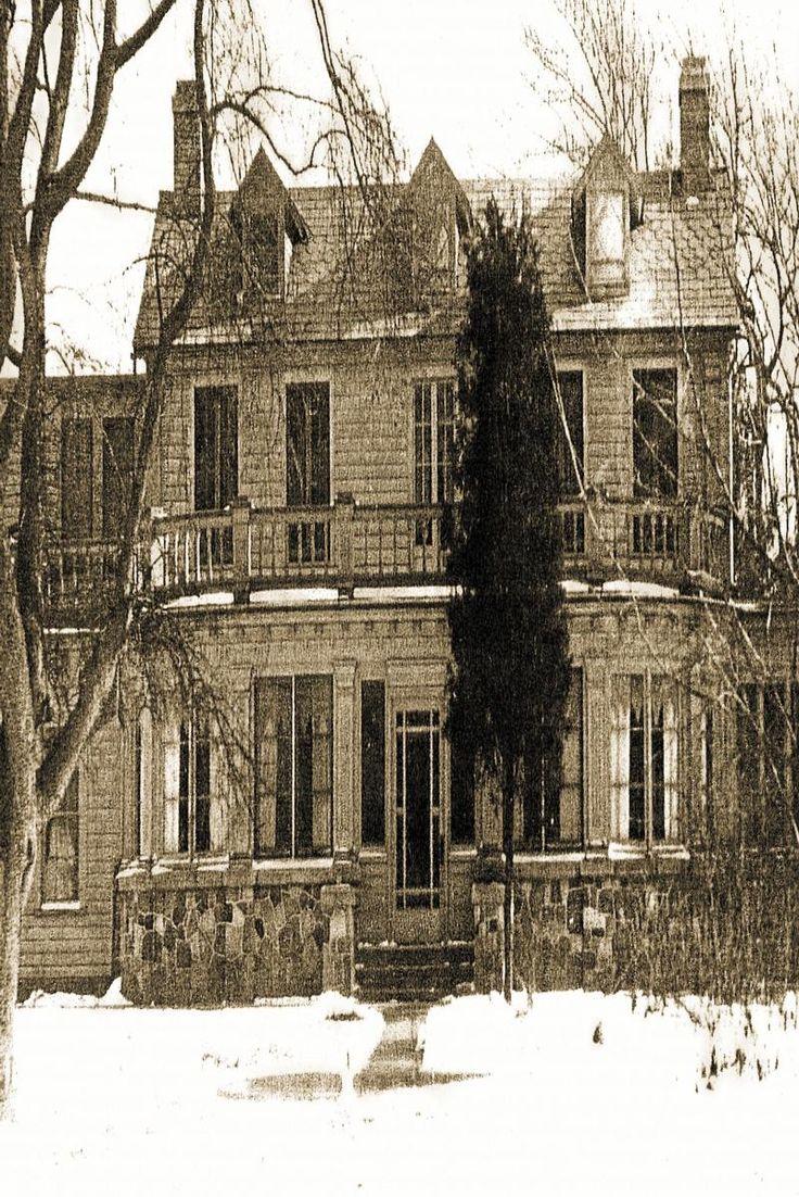 ohio haunted houses   Haunted House in Akron, Ohio The Spirits of Farnam Manor Haunted House