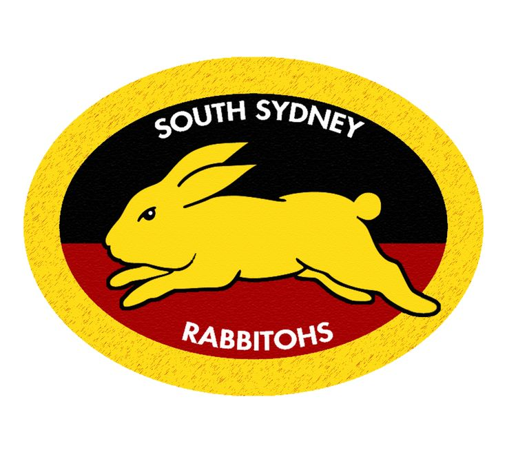 South Sydney Rabbitohs Aboriginal Logo by Sunnyboiiii