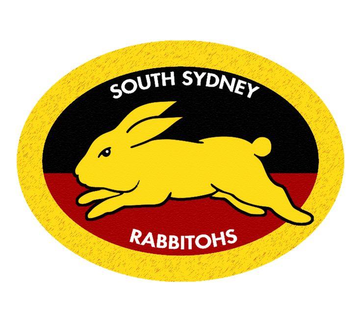 South Sydney Rabbitohs Aboriginal Logo by Sunnyboiiii