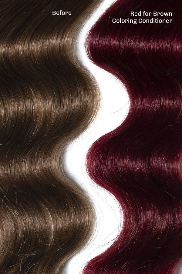 Red For Brown Hair Complete System Overtone Haircare Brown Hair Colors Brown Hair Shades Hair Color Light Brown