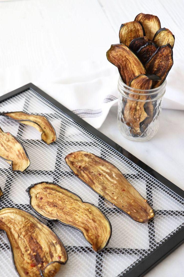 Dehydrator Tips and Eggplant Jerky Recipe | Megan Roosevelt | The Inspired Home Eggplant  Dehydrator