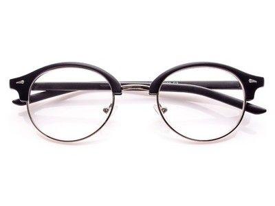 Kup teraz na allegro.pl za 29,90 zł - Okulary optyczne damskie zerówki Oval black matt (6515937207). Allegro.pl - Radość zakupów i bezpieczeństwo dzięki Programowi Ochrony Kupujących!