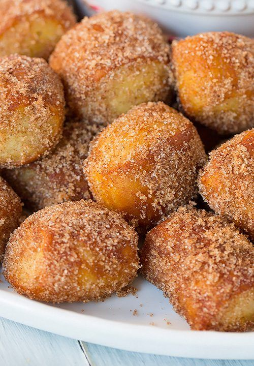 Auntie Anne's Copycat Cinnamon Sugar Pretzel Bites (Nuggets) with Cream Cheese Dipping Sauce - Cooking Classy