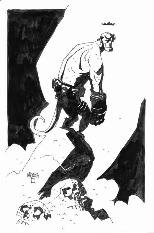 Mike Mignola: Hellboy