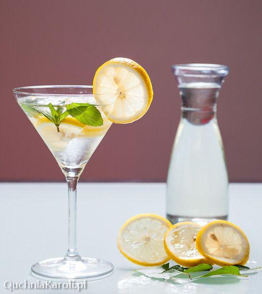 Mama Daj Jeść: Domowy napój a'la Sprite - syrop. Sposób na orzeźwienie.