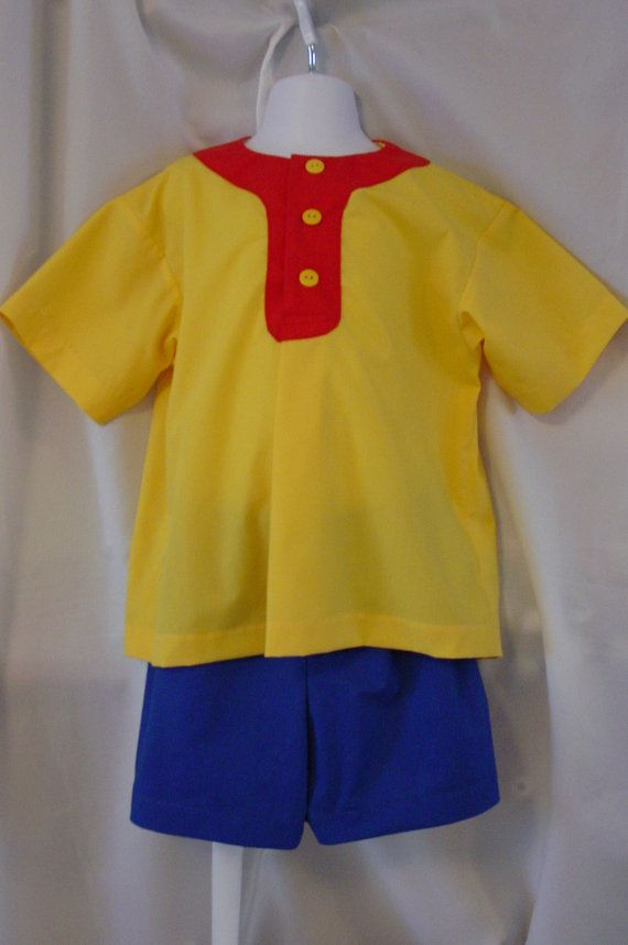 Childs birthday pajamas play set costume by GrandmaJcollection