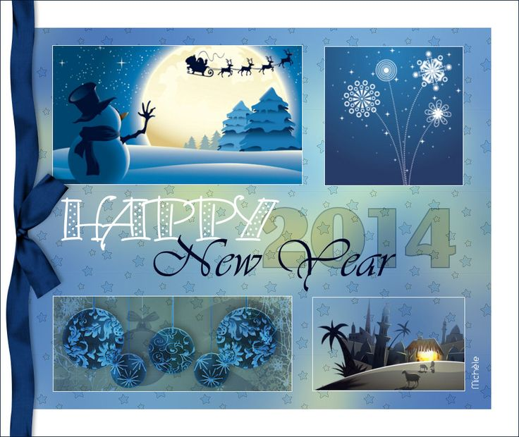 Très Tag Happy new year anglais | Paint Shop Pro Tutorials & More  UG74