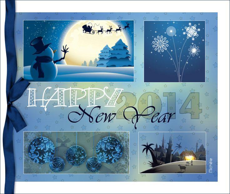 Tag Happy new year anglais | Paint Shop Pro Tutorials ...
