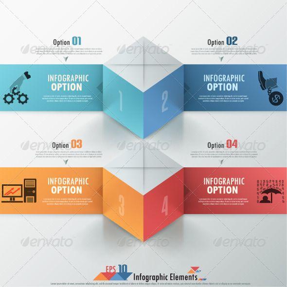 Modern Infographics Options Banner Template #design Download: http://graphicriver.net/item/modern-infographics-options-banner/6734617?ref=ksioks