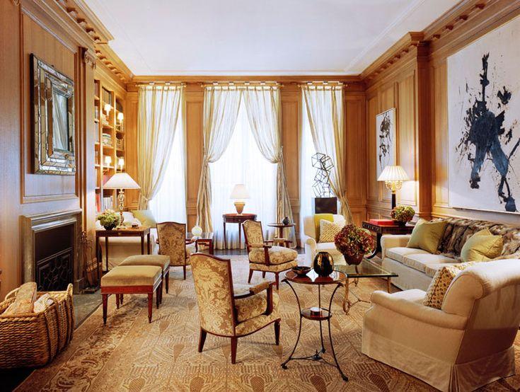 Traditional Living Room By David Kleinberg Design Associates And Nasser Nakib Architect In New York