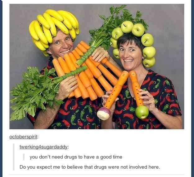 Say no to drugs: | 33 Of The Greatest Things That Happened On Tumblr In 2013