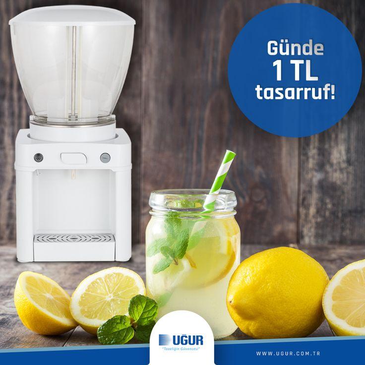 Alıştığımız geleneksel limonata tadını yeni teknolojisiyle birleştiren USM 19, %50 enerji tasarrufu sağlayarak, klasik şerbet makinelerine kıyasla günde 1 TL kazandırır.