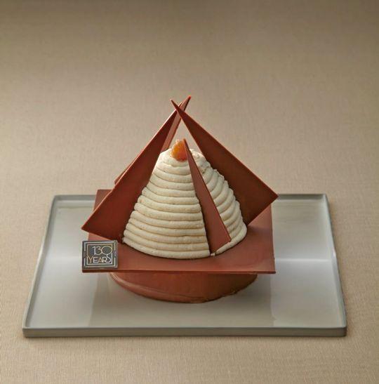FAUCHON芸術的なクリスマスケーキクリスマスモンブランの予約を10/1より開始